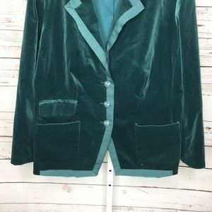 Sutton Studio Jackets & Coats - Sutton Studio Womens Velvet Jacket Blazer Size 18W
